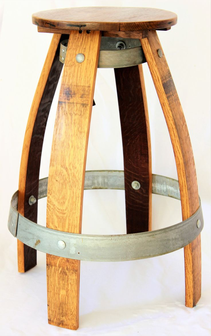 Best 25+ Wine barrel bar stools ideas on Pinterest | Wine ...