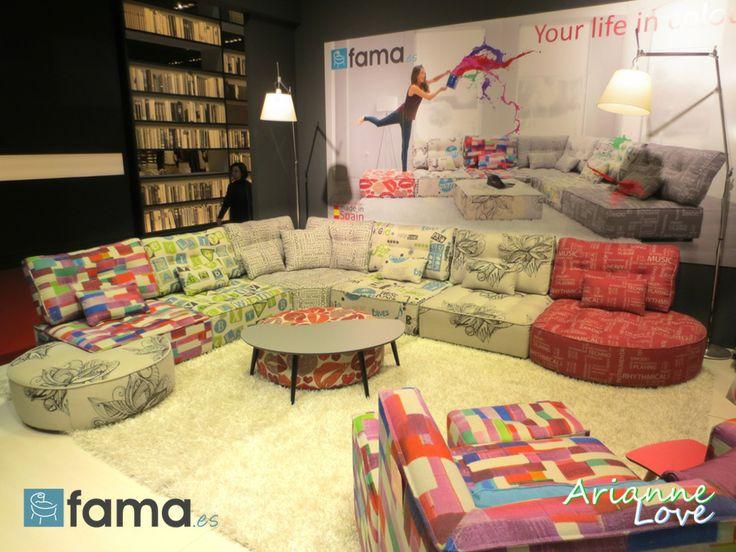 arianne love by fama isaloni sofas pinterest love. Black Bedroom Furniture Sets. Home Design Ideas