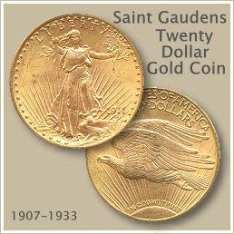 Saint Gaudens Twenty Dollar Gold Coin