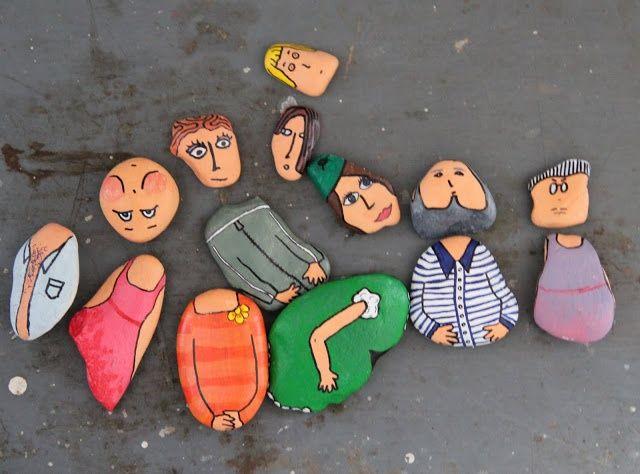 mommo design - SUMMER CRAFTS - stone puzzle