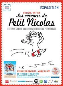 Mairie du 4e - Exposition « Les vacances du Petit Nicolas »