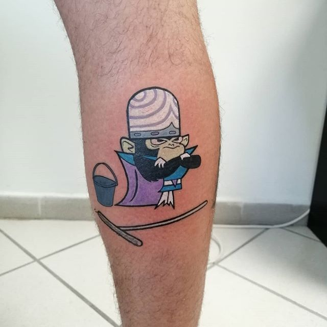 Cartoon Network, Scooby Doo Tattoo, Tattoos Mandala, Tatuagem Old School, Cartoon Tattoos, Old Cartoons, Forearm Tattoo Men, Sleeve Tattoos, Tatoos