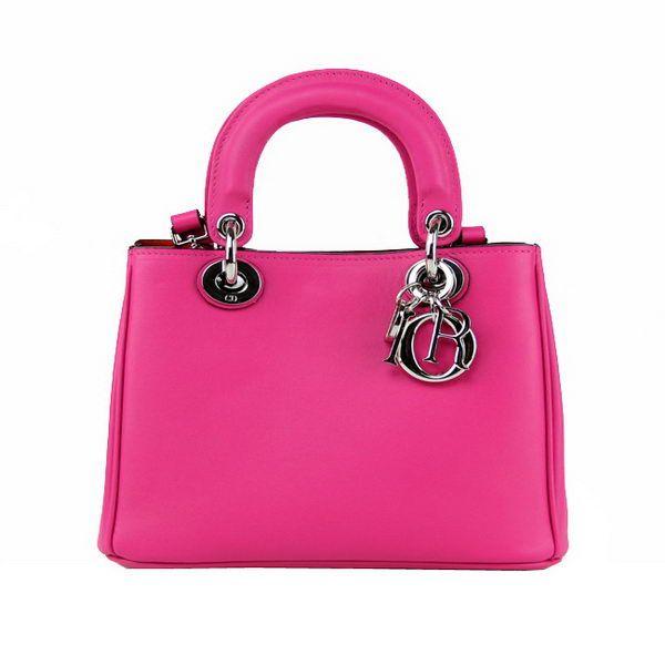 Dior mini Diorissimo Bag in Original Leather D44375 Rose . Noble Dior mini Diorissimo Bag in Original Leather D44375 Rose - $309.00, 50% off.