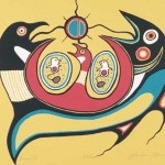 by Jackson Beardy (1944-1984), Native Canadian artist
