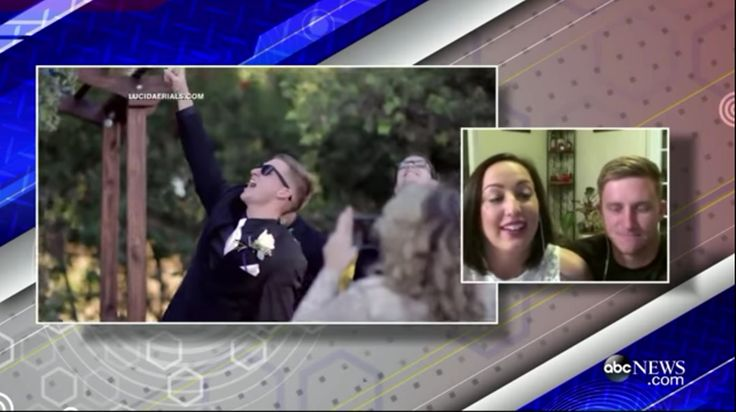 Did you know that we were featured on Good Morning America? If not, take a look: https://www.youtube.com/watch?v=h8Q8UhLqv6I #goodmorningamerica #wedding #dj #weddingdj #djbrock #tahoewedding #tahoedj #weddingmusic