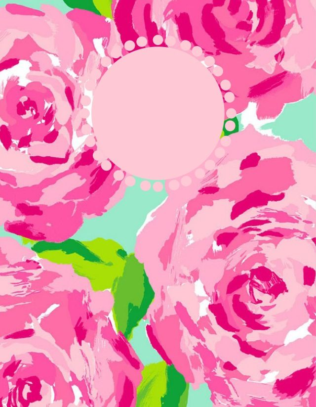 lilly pulitzer computer wallpaper monogram