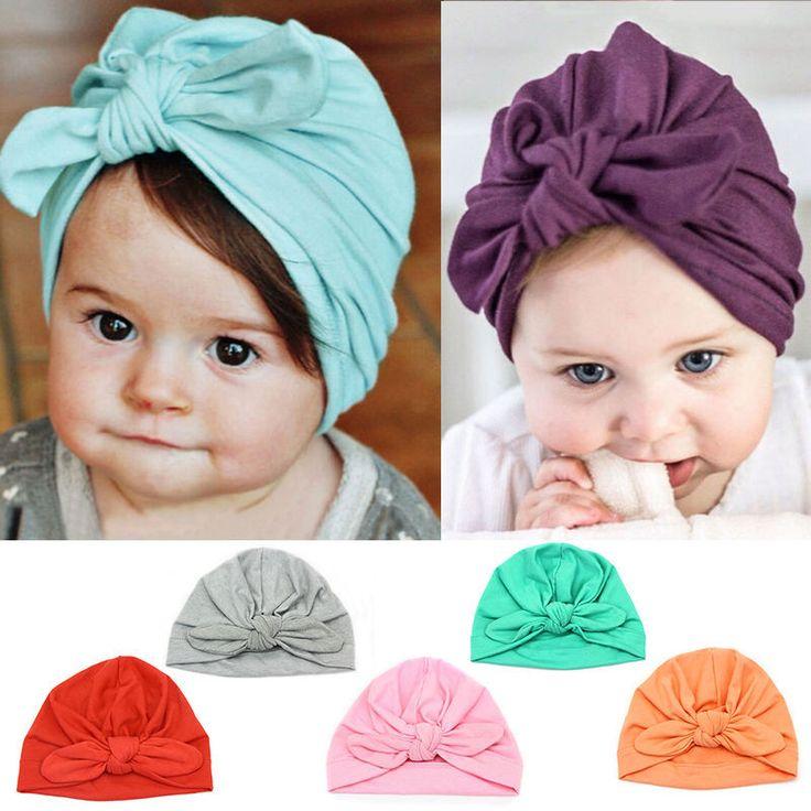 Haarbänder - Babymütze Kindermütze lila rosa - ein Designerstück von BeautifulCrochet bei DaWanda