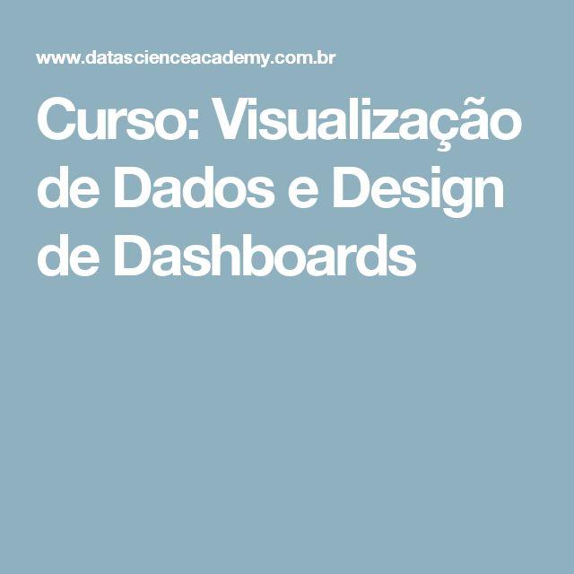 Curso: Visualização de Dados e Design de Dashboards