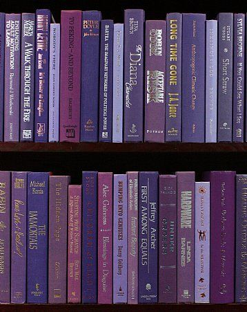 """With sumptuous purple bindings, these modern """"cloth"""" hardbacks range from lavender to indigo and are in very good to new condition. Only around $2.50 per book, these books are perfect for interior decorating, model/vacation home furnishings, art materials, AND MORE!  Book Details Height 8"""" to 9.5"""". Very good to new condition. 10 to 12 books per foot.  Ordering Information Minimum order 6 feet. No sales tax outside of Maryland. Shipping billed at cost.  Price per foot.  Price: $29.99"""