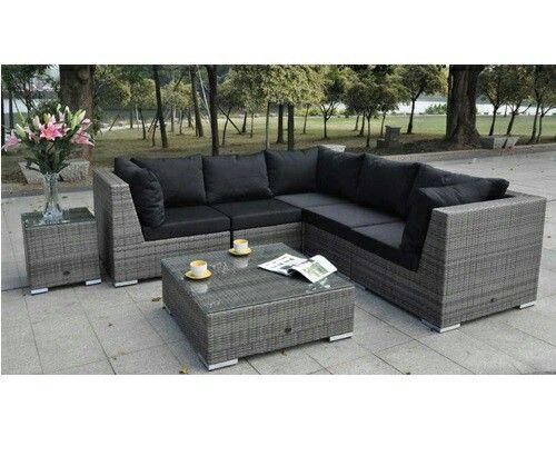 garten lounge set pinterest'te hakkında 1000'den fazla fikir, Gartengestaltung