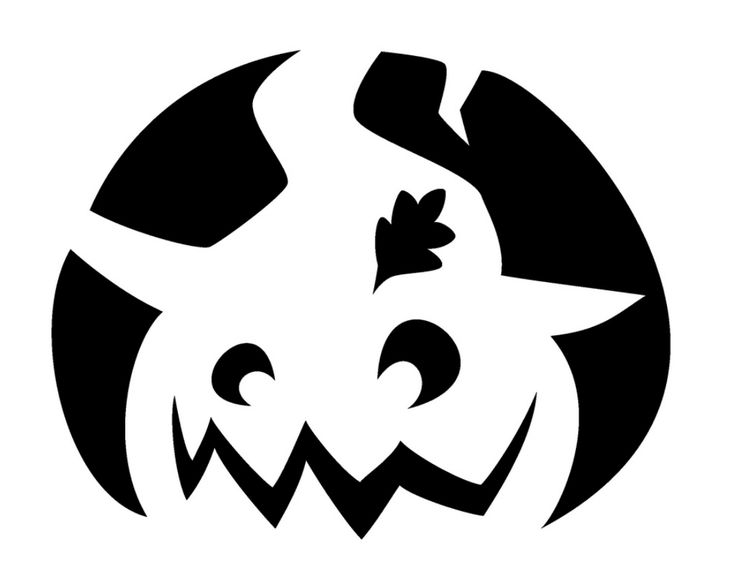 Free halloween stencils to print and cut out. Click and print.