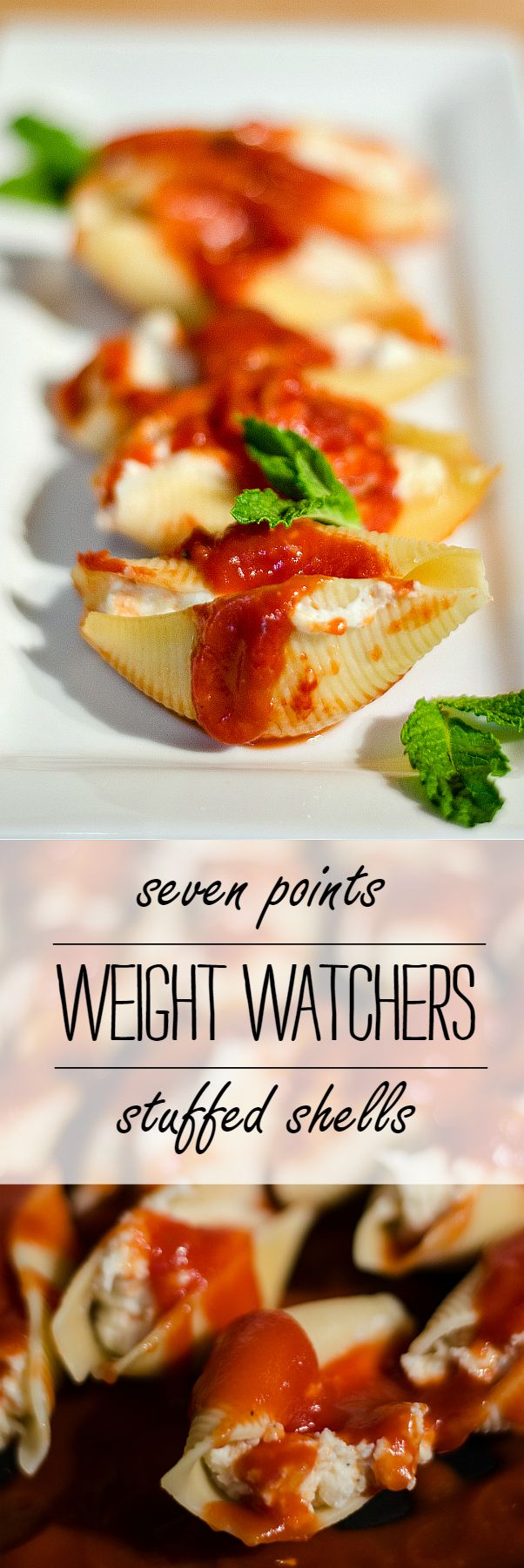 weight watchers stuffed shells - It All Started With Paint
