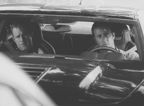 """Guy:""""are you even a cop"""" Paris""""no but they are"""" lol this episode was soo good i loved it :] #H50 #season4 #gif"""