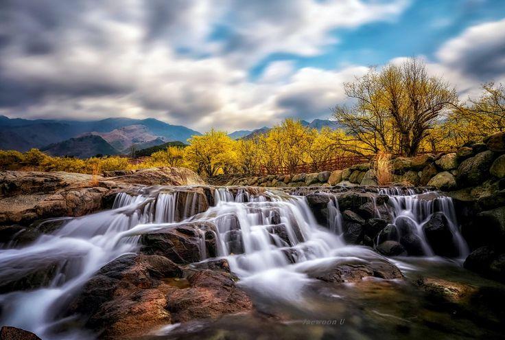 waterfall by Jaewoon U on 500px, Korea