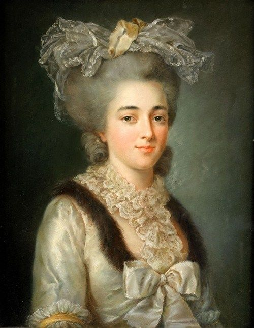 Circle of Adelaide Labille-Guiard (1749 - 1803) - Portrait of a lady, circa 1780.