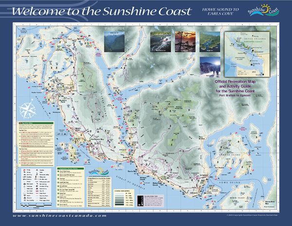 Street map British Columbia PDF