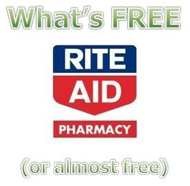 What's FREE (or almost free) at Rite Aid 1/26-2/1 - http://www.couponaholic.net/2014/01/whats-free-or-almost-free-at-rite-aid-126-21/
