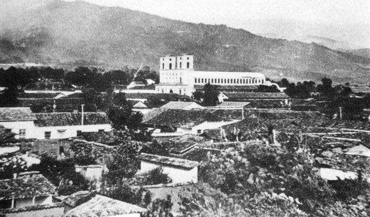 catedral de la sagrada familia bucaramanga, colombia | Descripción Catedral de la Sagrada Familia en los años 20.jpg