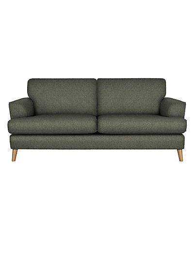 Sofas & Sofa Beds | Leather & Fabric Compact Sofas | M&S