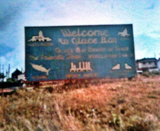 Old Welcome to Glace Bay Sign_Glace Bay_Cape Breton   Photographs And Memories, Cape Breton, Nova Scotia