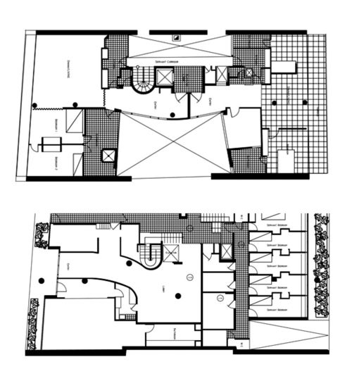 Le corbusier immeuble molitor paris 1934 plans 30 39 s pinterest posts le corbusier and - Porte d orleans paris plan ...