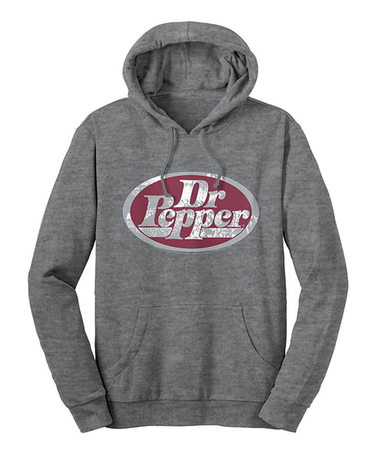 Look at this #zulilyfind! Dr. Pepper French Terry Hoodie - Adult by Trau & Loevner #zulilyfinds