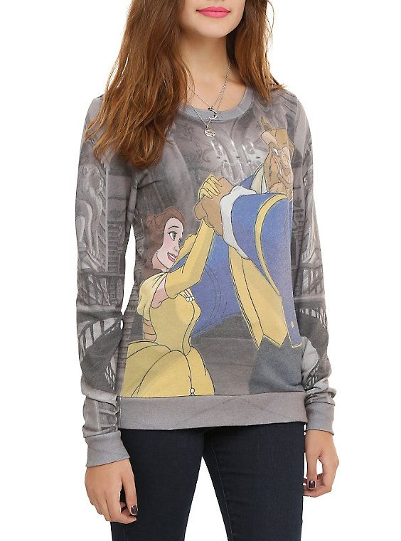 Disney Beauty And The Beast Belle Beast Girls Pullover Top My