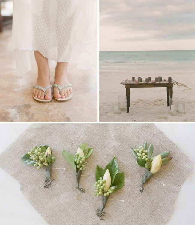 Rustic Beach Wedding Inspiration   Green Wedding Shoes Wedding Blog   Wedding Trends for Stylish + Creative Brides