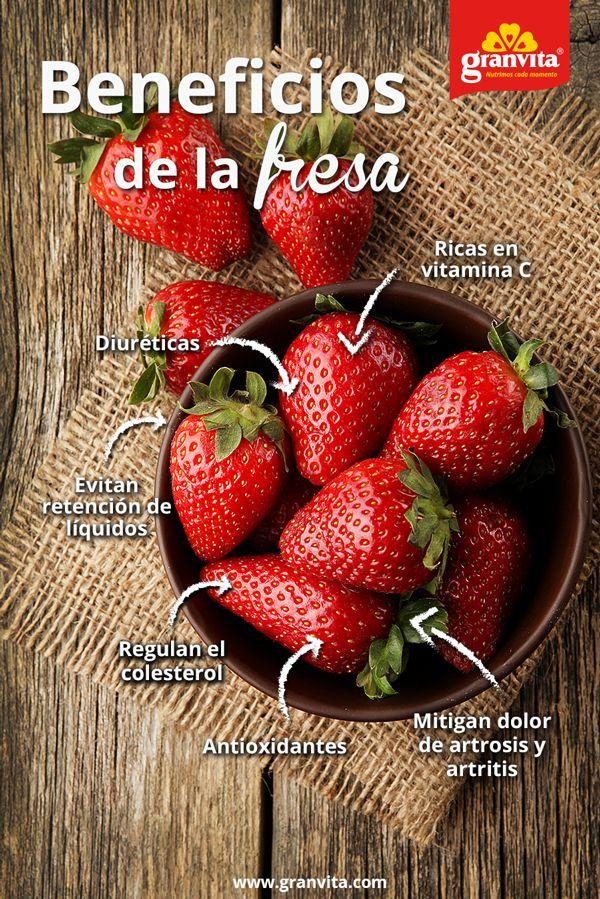 Además de ser muy ricas, las fresas aportan muchas cosas buenas al organismo, entérate: