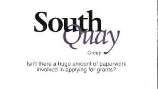 5) Isn't there a huge amount of paperwork in applying for grants?