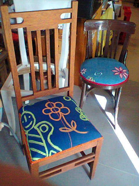 27 best nuestros muebles images on pinterest furniture - Sillas restauradas ...