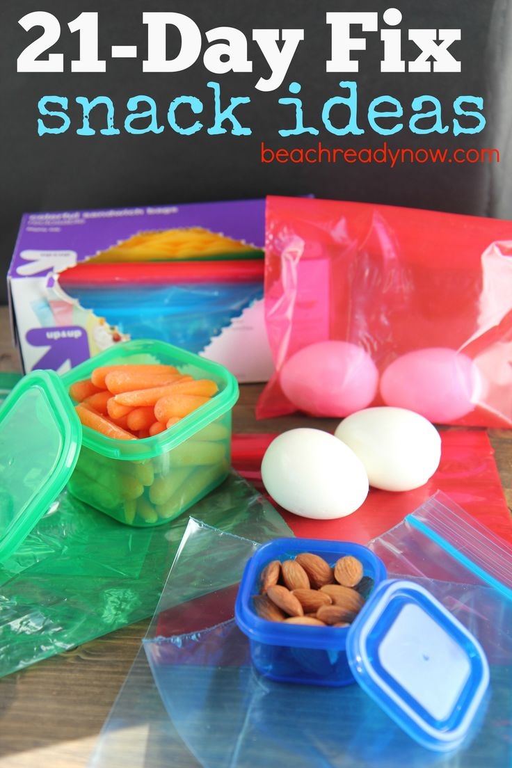21-Day Fix Snack Ideas #21DayFix #BeachReadyNow #Fitness