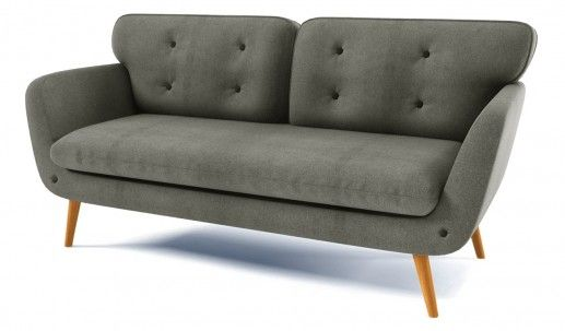 Rea 3 Seater Retro Sofa