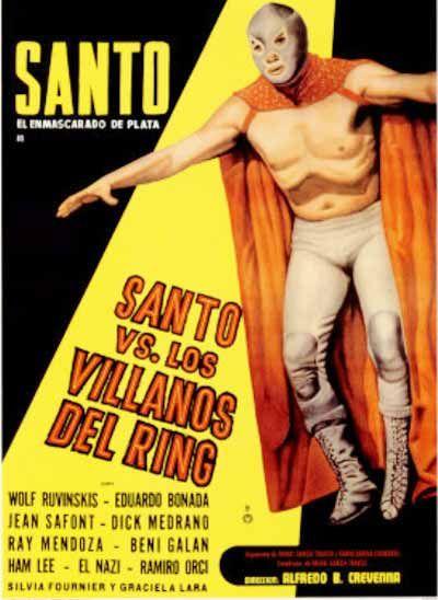 El Santo vs Los villanos del ring