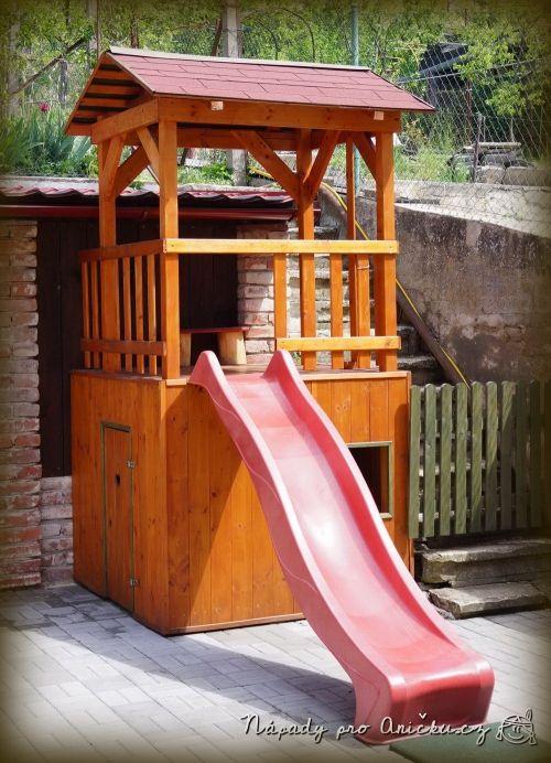 Zahradní domeček pro děti - Garden playhouse
