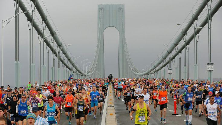 Textil publicitario en la maratón de Nueva York