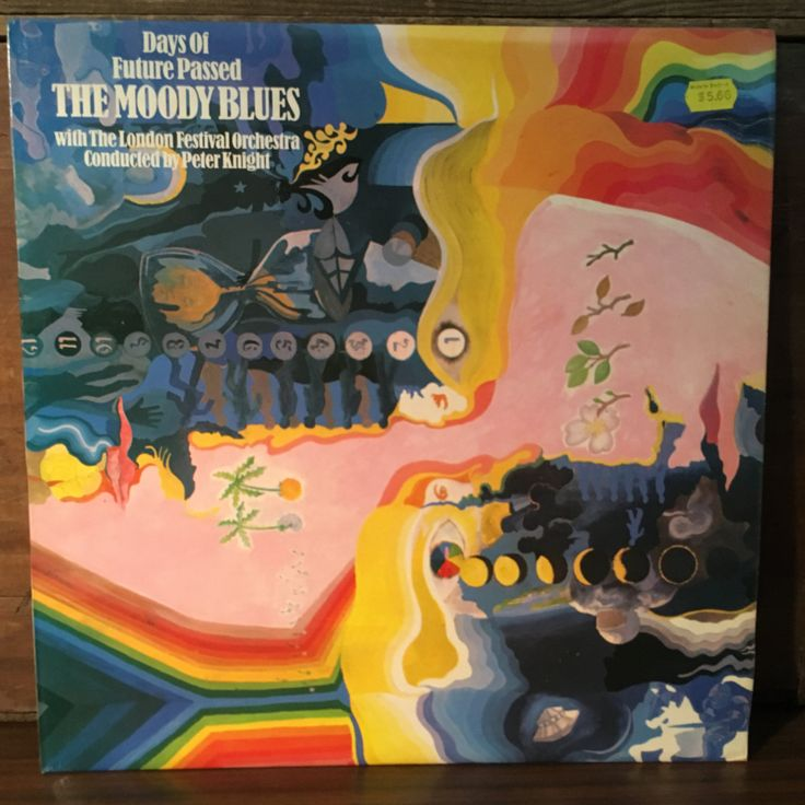 The Moody Blues • Days of Future Passed Vinyl LP 1967 Deram Records UK Pressing Psych Rock by vintagebaron on Etsy