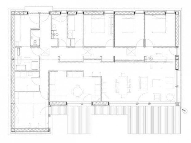 45 best maison plein pied images on Pinterest Home plans, Plants
