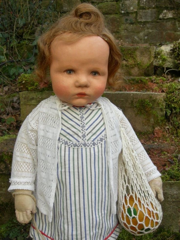 Vintage Sayco Braut Puppe