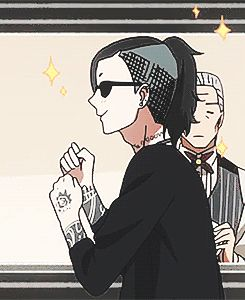 UTA IS LOVE. UTA IS LIFE. //// it looks like he's singing. Try this gif while listening to music