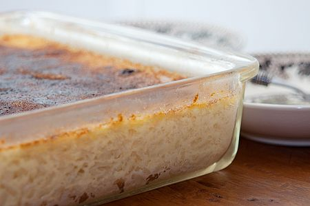 baked rice pudding that I definitely want to make!