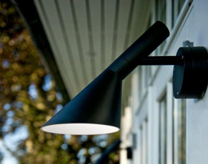 Applique murale design original / d'extérieur / en aluminium / à LED - AJ 50 - Louis Poulsen Lighting A/S International