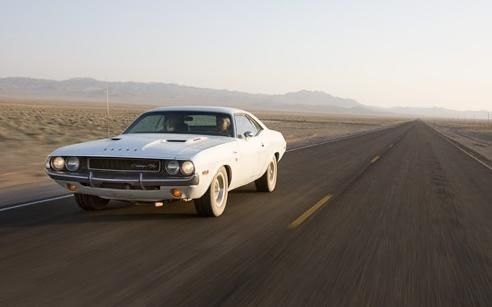 """1970 Dodge Challenger R/T from """"Vanishing Point"""""""