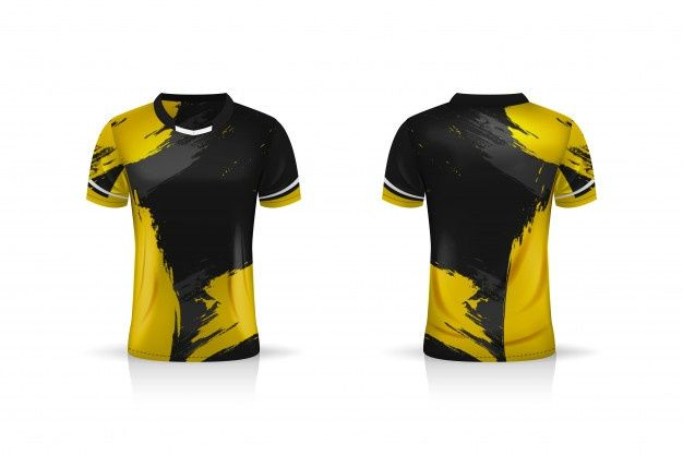 Download Especificacao Soccer Sport Esport Gaming T Shirt Jersey Template Uniforme Soccer Tshirt Designs Sport Shirt Design Sports Tshirt Designs