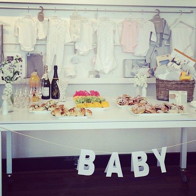 Baby shower at Purebaby HQ