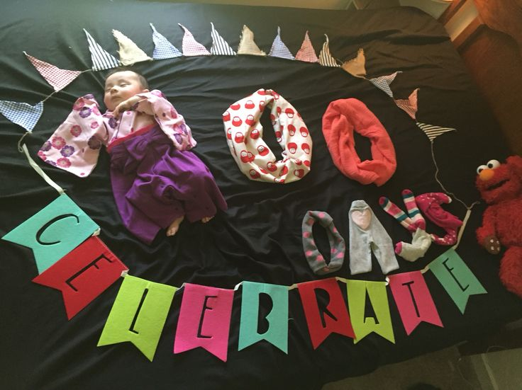 100days celeblate  of baby borned