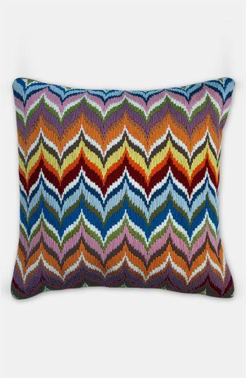 Jonathan Adler 'Flame Bargello' Pillow | Nordstrom