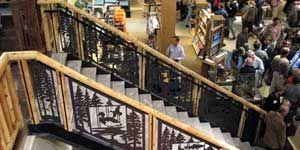 LLBean Hunting and Fishing Store w Custom Railing Designs by NatureRails