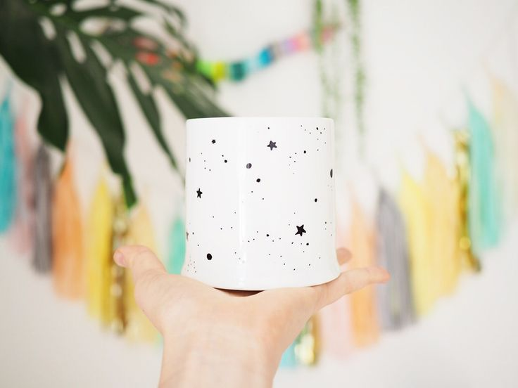 *NEW* Hand illustrated Porcelain Planters | OH NO Rachio!