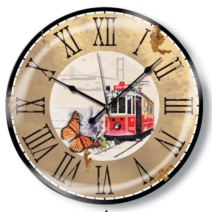 Yuvarlak Antik Color Duvar Saati, Yuvarlak Antik Color Duvar Saati Ürün Bilgisi ;Ürün maddesi : Gövdesi : Plastik, bombeli gerçek cam Ebat : 48cm Büyük boy Mekanizması : Aka